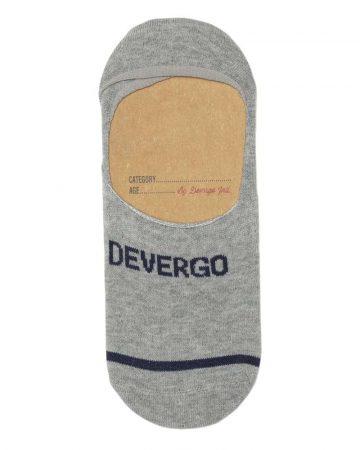 DEVERGO Férfi zokni szürke