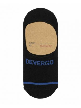 DEVERGO Férfi zokni fekete