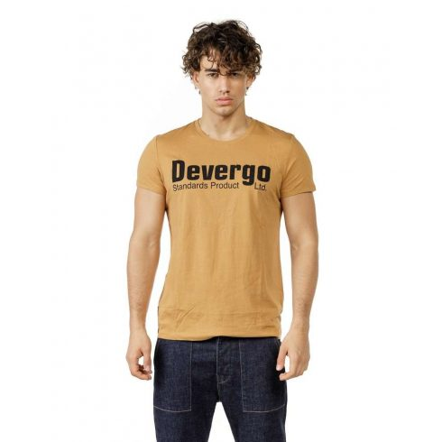 DEVERGO Férfi póló mustár