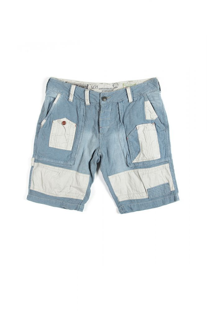 DEVERGO Férfi farmer bermuda kék - Talizmán Sport   Fashion 826f7f008b