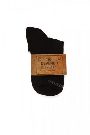 DEVERGO Férfi titok zokni fekete
