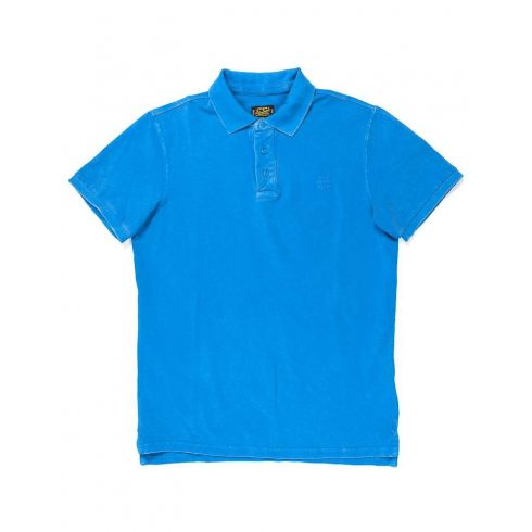 DEVERGO Férfi piké póló kék