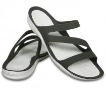 CROCS SWIFTWATER SANDAL smoke/white Nõi papucs