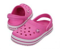 CROCS CROCBAND CLOG K party pink Gyerek papucs