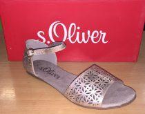 S.OLIVER Nõi szandál rose metallic