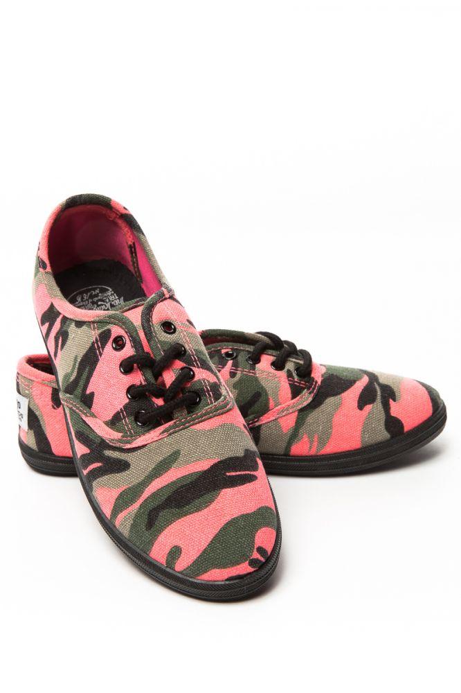 Devergo AMANDA PATTERN női vászoncipő Terepmintás
