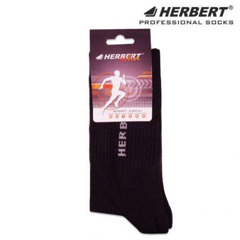 HERBERT Active sport bokazokni talpfrottír sötétszürke